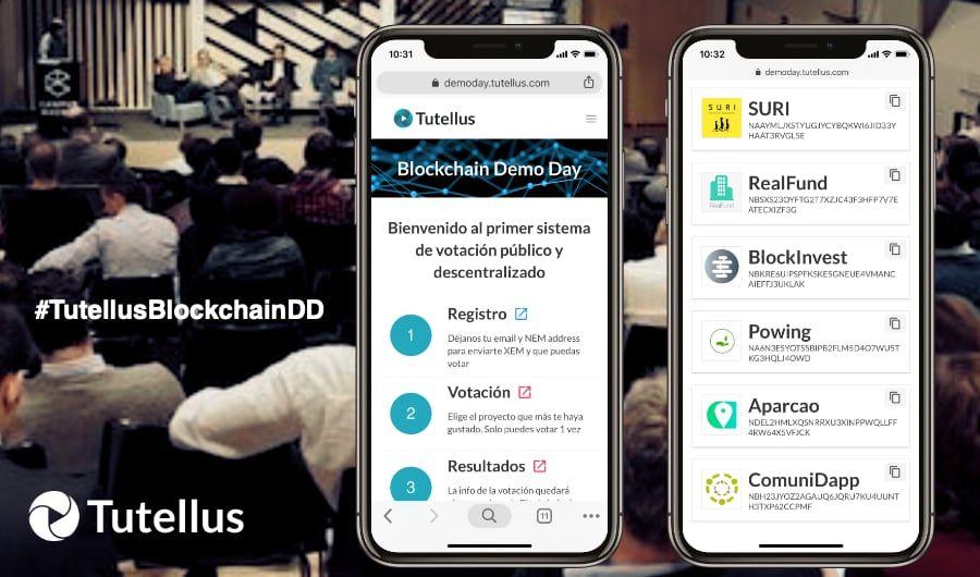 Regalamos 1.000€ en tokens TUT en el Demo Day a los tuiteros más activos!